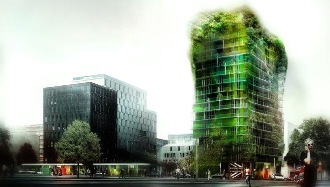 M6B2, la tour de la biodiversité ou l'urbanisme du futur