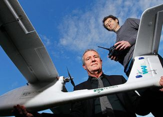 Quantifly drone anti pollution