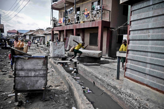 La destruction des bidonvilles à Lagos