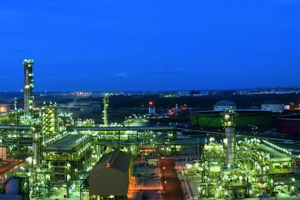 distillation pétrole la SAMIR