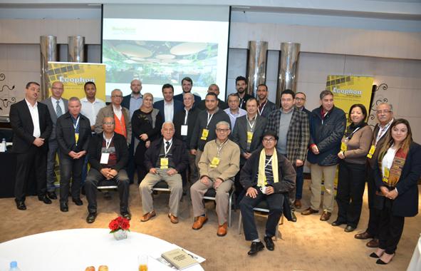 groupe du séminaire Ecophon organisé par Platinova