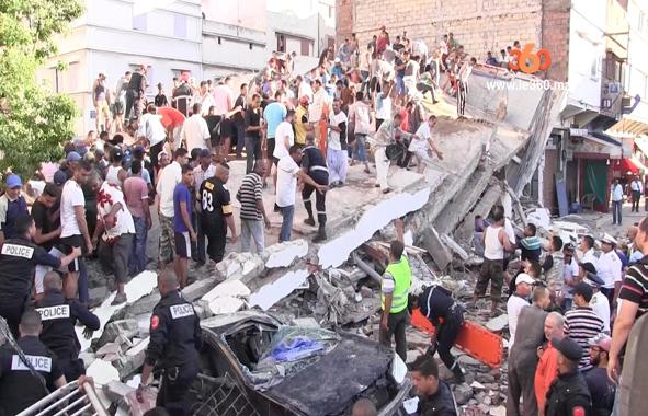 effondrement immeuble sbata