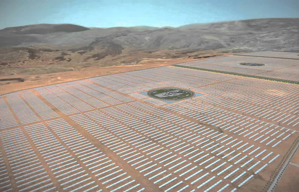 ferme solaire à tata
