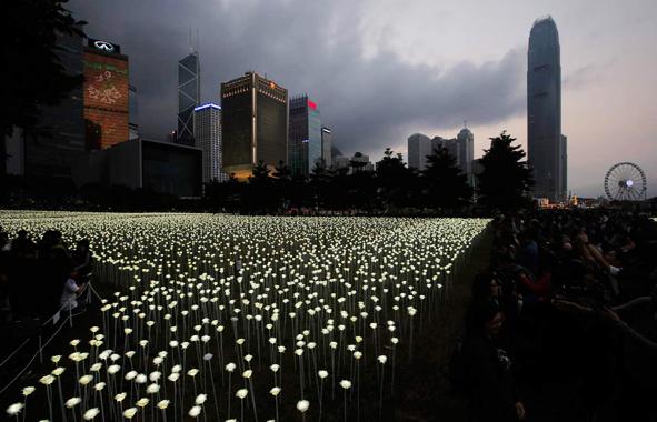 Hong Kong, des LED 44% plus efficaces