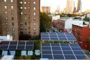 Brooklyn, les habitants peuvent acheter de l'énergie solaire à leurs voisins