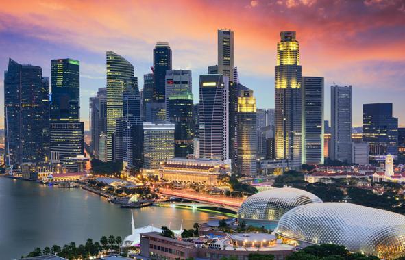 Singapour City, la Cité-État fait figure de modèle en matière de ville intelligente