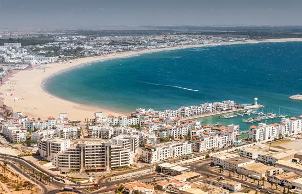 Agadir, la 1ère station balnéaire nationale