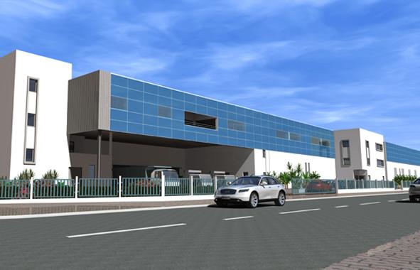 Couvermetal réalise les travaux de la nouvelle usine de Maghreb Industries