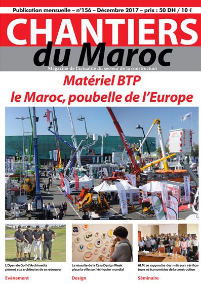 Chantiers du Maroc magazine 156