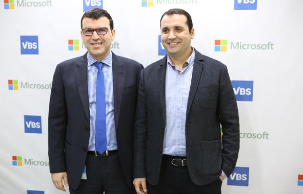 VBS et Microsoft signent un partenariat