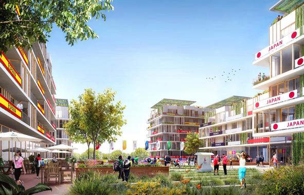 J.O de Paris : village olympique vert