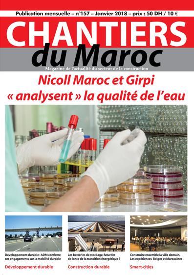 Chantiers du Maroc magazine 157