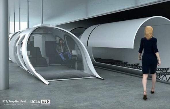 Elon Musk lance l'hyperloop