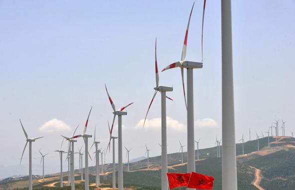 Énergie éolienne au Maroc
