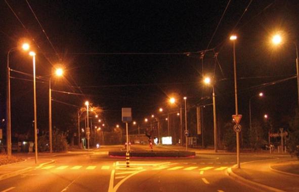 l'éclairage public de Rabat