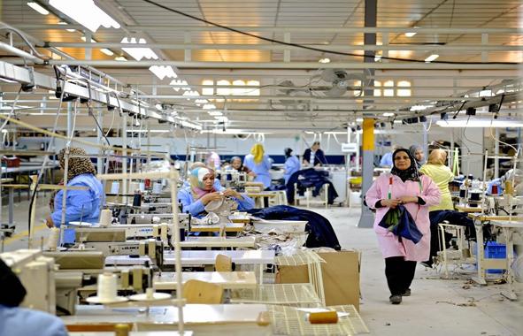 textile : mégacité industrielle en Egypte