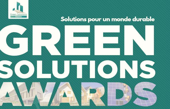 solutions durables lors du green solutions awards