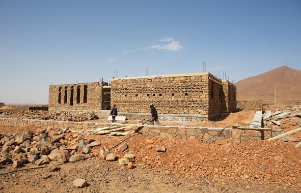 Salima Naji : pièrres-sèches