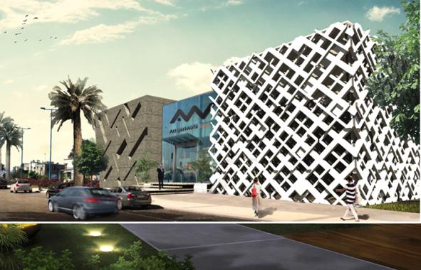 label HQE pour le siège régional d'Attijariwafabank de Rabat