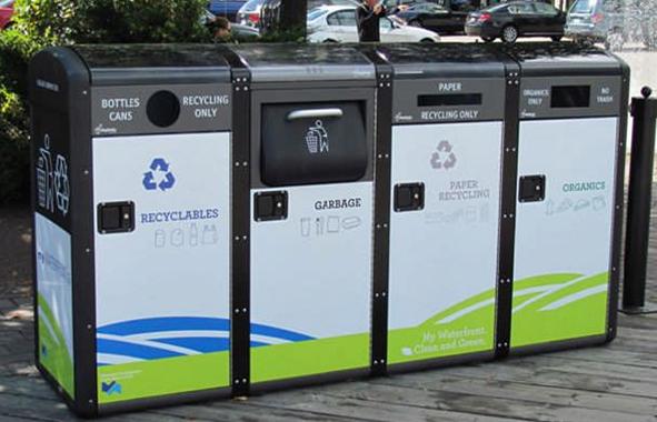 Philadelphie : nouvelles poubelles intelligentes
