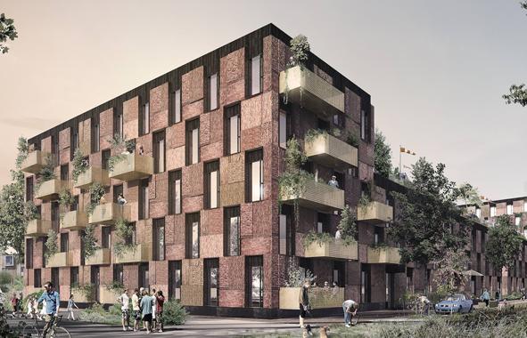 maisons abandonnées recyclées au Danemark