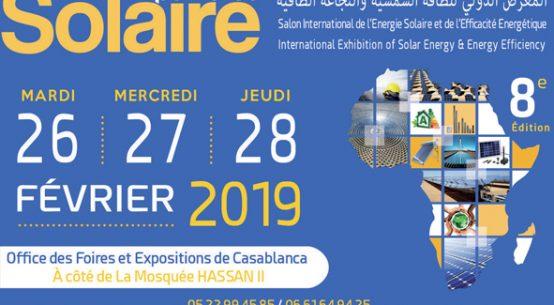 SOLAIRE EXPO MAROC 2019