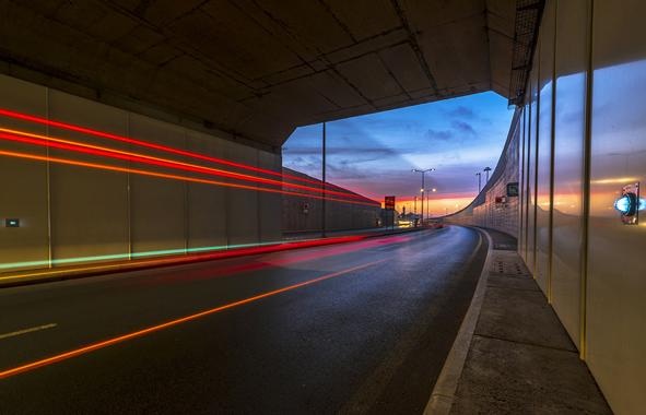 tunnel des Oudayas