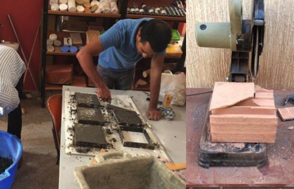 matériaux de construction locaux