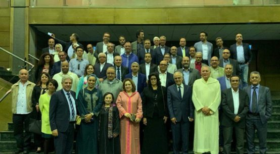Abdelahad Fassi FEHRI en conclave avec les architectes