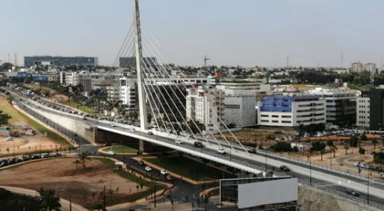 pont haubané de Sidi Maarouf