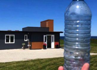 bouteilles recyclées pour construire maison