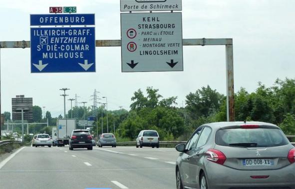 autoroute de strasbourg