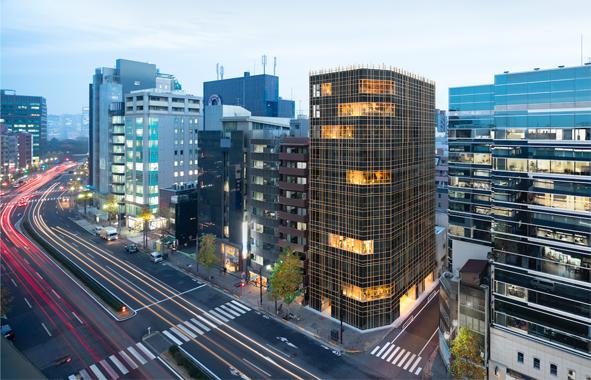 espace convivial pour les salariés Japonais
